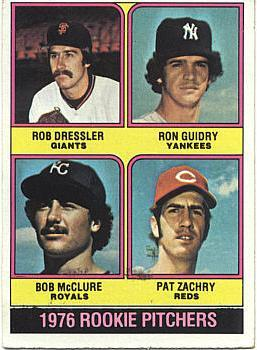 Ron Guidry Rookie Card