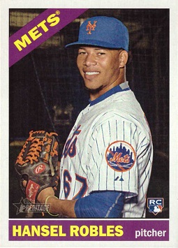 Hansel Robles Rookie Card