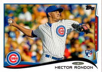Hector Rondon Rookie Card