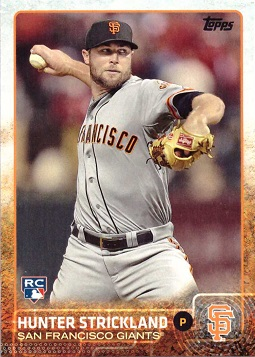 Hunter Strickland Rookie Card