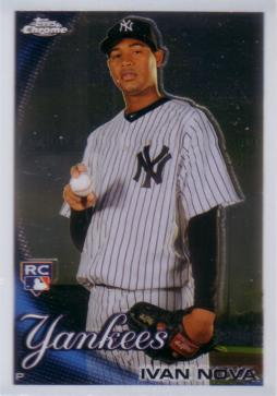 2010 Topps Chrome Ivan Nova Rookie Card