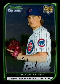 2008 Bowman Chrome Jeff Samardzija Rookie Card