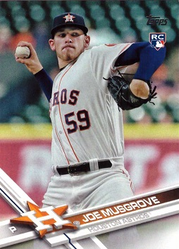 Joe Musgrove Rookie Card