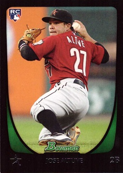 Jose Altuve Bowman Draft Rookie Card
