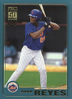 Jose Reyes Rookie Card