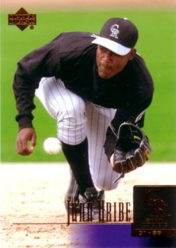 Juan Uribe Rookie Card