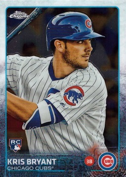 2015 Topps Chrome Kris Bryant Rookie Card