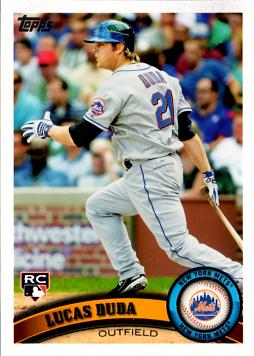 Lucas Duda Rookie Card