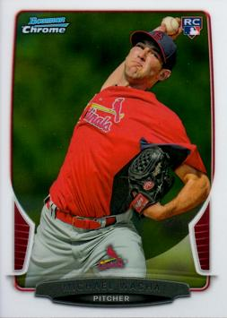Michael Wacha Bowman Chrome Rookie Card