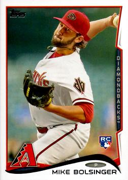 Mike Bolsinger Rookie Card