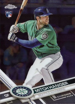Mitch Haniger Rookie Card