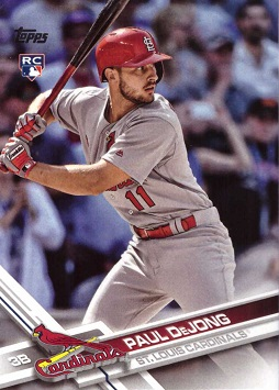 Paul DeJong Rookie Card