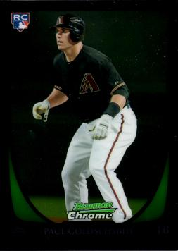 Paul Goldschmidt Bowman Chrome Rookie Card