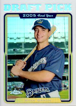 Ryan Braun Rookie Card