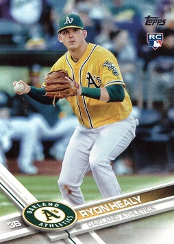 Ryon Healy Rookie Card