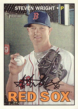Steven Wright Rookie Card