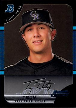 Troy Tulowitzki Bowman Chrome Rookie Card