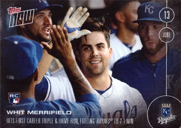 Whit Merrifield Rookie Card
