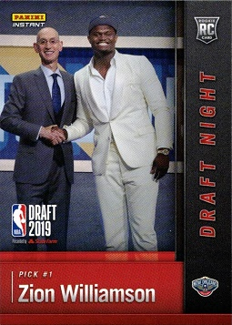 Zion Williamson Rookie Card